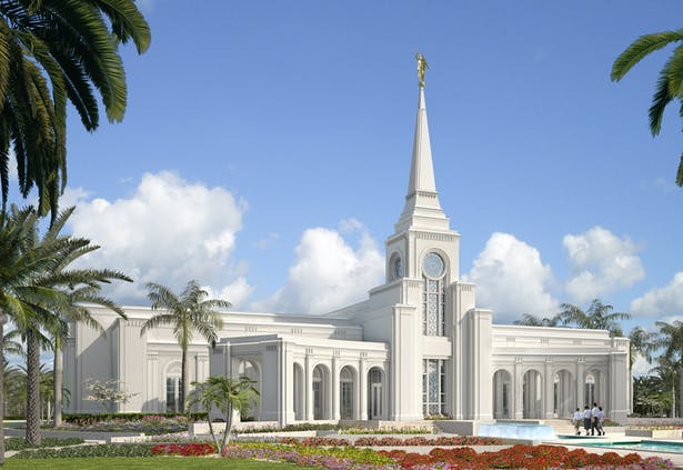 LDS Temple - Fort Lauderdale, Florida Exterior