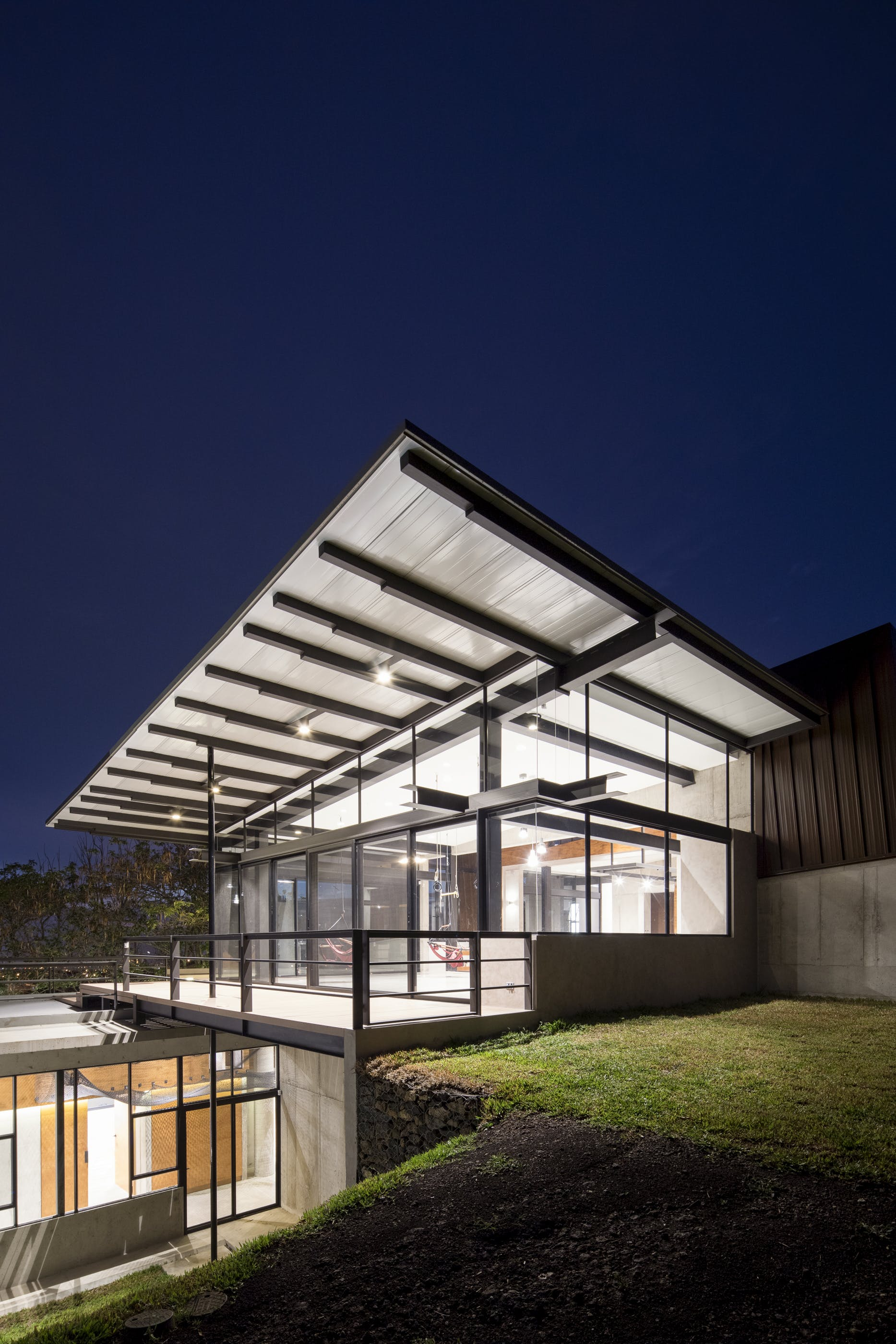 home designed. Image  Roberto D Ambrosio The experimental nature of Murray Music House a single family