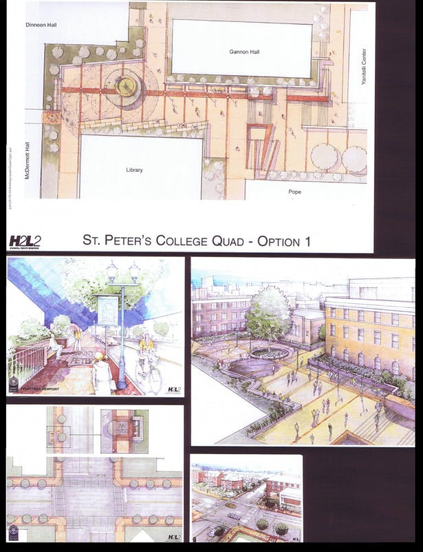 'Quad' - Plan and Sketches