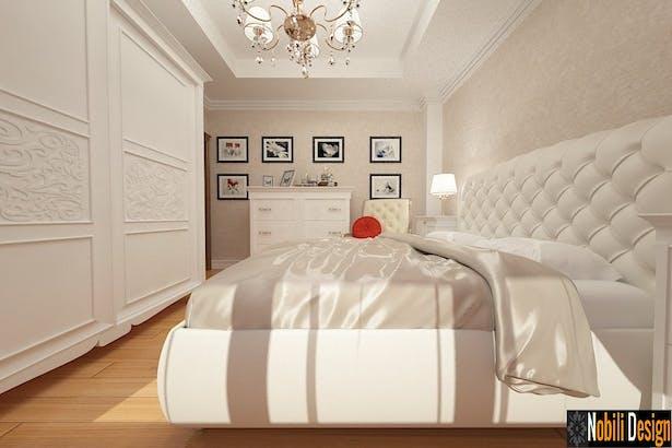 Proiecte design interior case clasice realizate cu tapet Italia