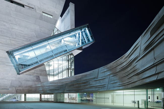 Architecture Merit Award Winner: Perot Museum of Nature and Science in Dallas, TX by Morphosis Architects (Image Credit: © Shu He)