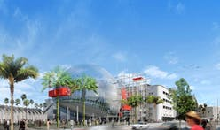 Motion Picture Academy unveils Renzo Piano's design for LA film museum