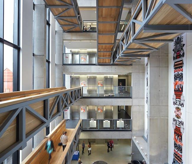 Manchester School of Art by Feilden Clegg Bradley Studios. Photo © Hufton + Crow