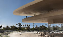 "Peter Zumthor lends his LACMA vision a much lighter, ""mineral"" tone in latest renderings"