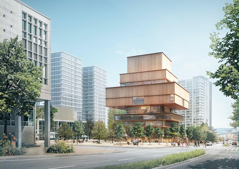 Herzog & de Meuron's concept for new Vancouver Art Gallery released