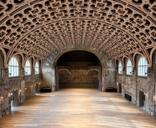 Battersea Arts Centre, by Haworth Tompkins. Photo: Fred Howarth.
