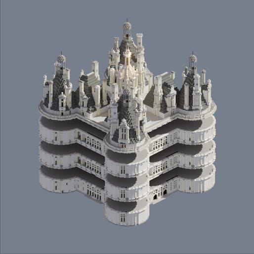 L'École Nationale Supérieure d'Architecture de Nancy (France) for the project #TwinC