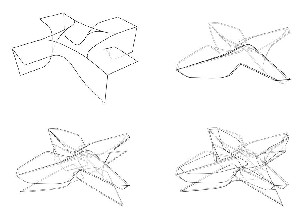 Ben Van Berkel/UNStudio's New Amsterdam Plein & Pavilion