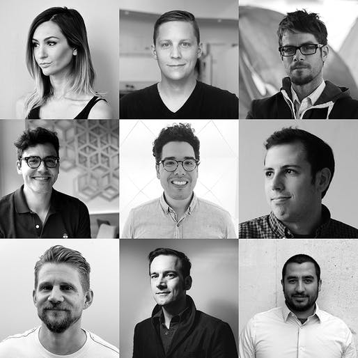 TOP ROW: Viola Ago; Hans Tursack, Sean Ahlquist; MIDDLE: Etien Santiago, Daniel Luis Martinez, Christopher Battaglia; BOTTOM: Sean Lally; Matthew Wizinksy; Marshall Prado. Courtesy Exhibit Columbus University Design Research Fellowship.