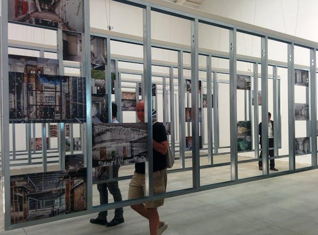 Unfinished. Spain Pavilion. Photo by Laura Amaya.