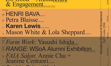 Get Lectured: Woodbury University, Fall '16