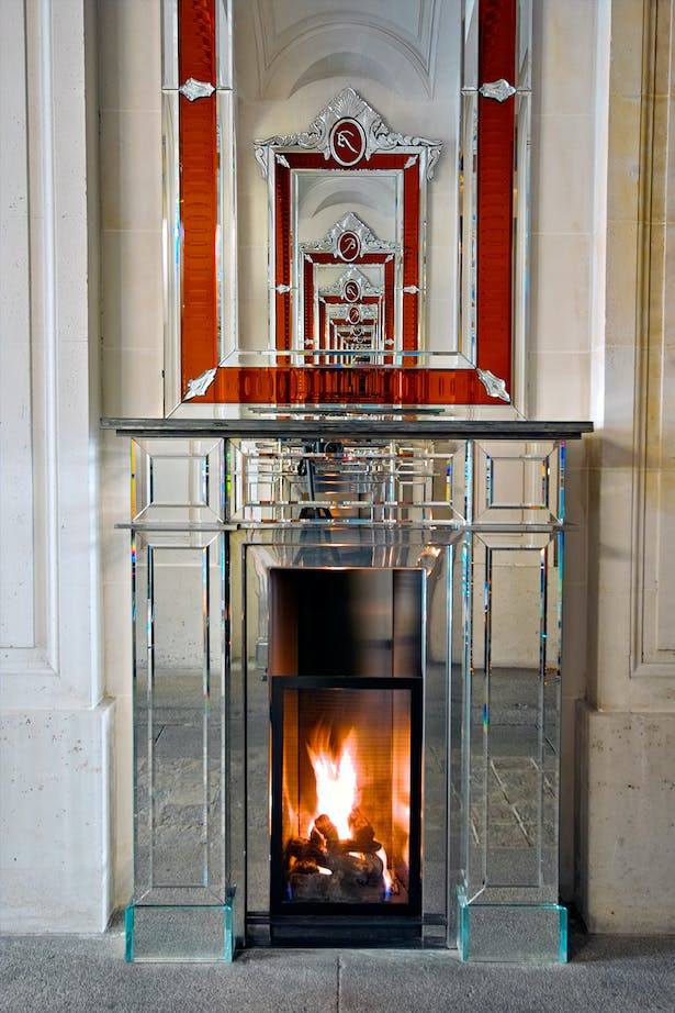 Philippe Starck fireplace by Bloch Design for Baccarat 4
