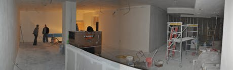 Drywall Phase - Retail