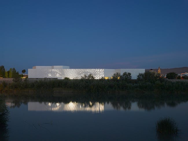 Contemporary Art Center in Córdoba, Spain by Nieto Sobejano Arquitectos. Photo: Roland Halbe.