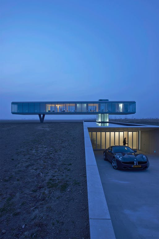 Winner of the ARC13 Architecture Award: Villa Kogelhof by Paul de Ruiter Architects. Photo: Jeroen Musch