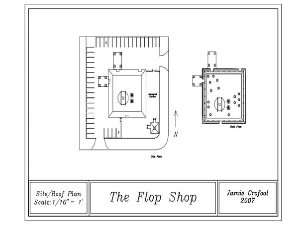 Site & Roof Plan