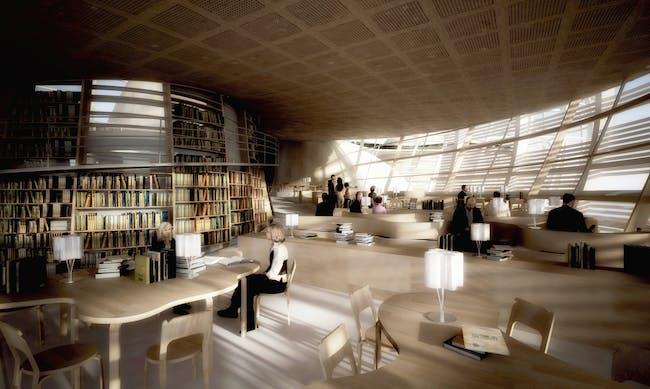 View of library (Image: Djuric Tardio - Scriptogram.com)