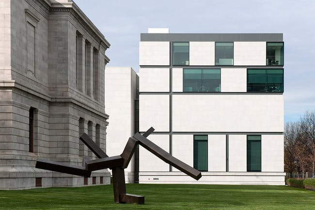 Boston Museum of Fine Arts in Boston, Massachusetts, USA (Photo: Nigel Young)