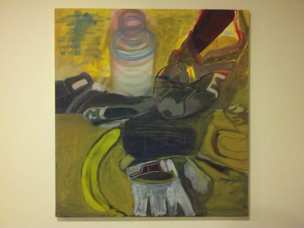 Bicycle Gear, Oil on Canvas