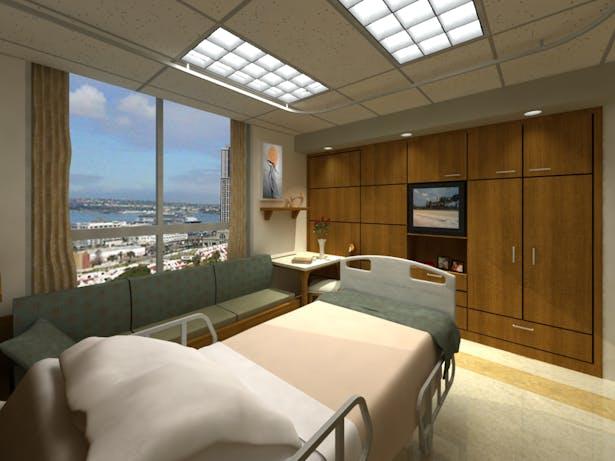 New Patient bed suite