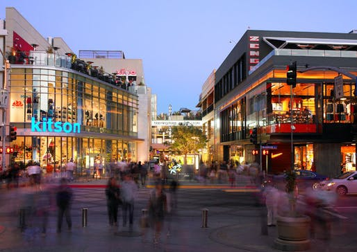 Santa Monica Place in Santa Monica, California.