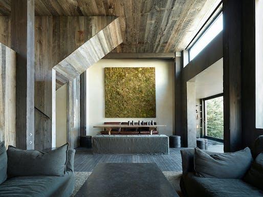 La Muna (Aspen, Colorado, 2011) by Oppenheim Architecture + Design. Photo: Laziz Hamani.
