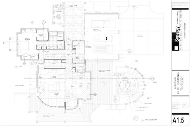 Plan - Synergy Architect + Planning