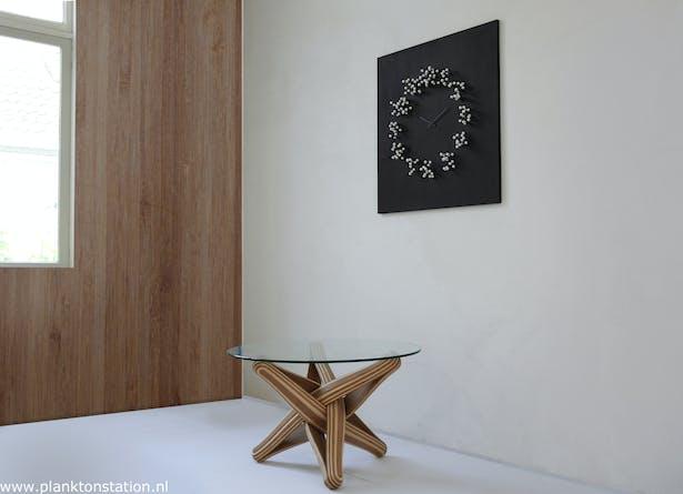 """""""MOCAP """" wall clock"""