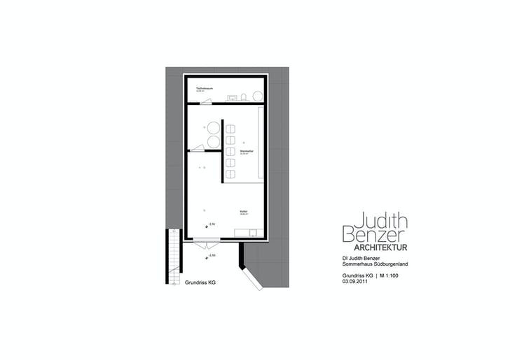 Floor plan, basement / wine cellar