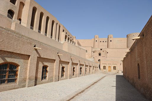 """The Qala Ikhtyaruddin, or citadel, in Herat, Afghanistan. Photo courtesy the United States Embassy in Kabul/<a href=""""https://www.flickr.com/photos/kabulpublicdiplomacy/5852026169/in/album-72157626878533313/"""">Flickr</a> (CC BY-ND 2.0)"""