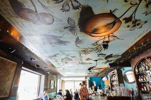 Chez Oskar - Collaboration with Artist Charlotta Jannsen