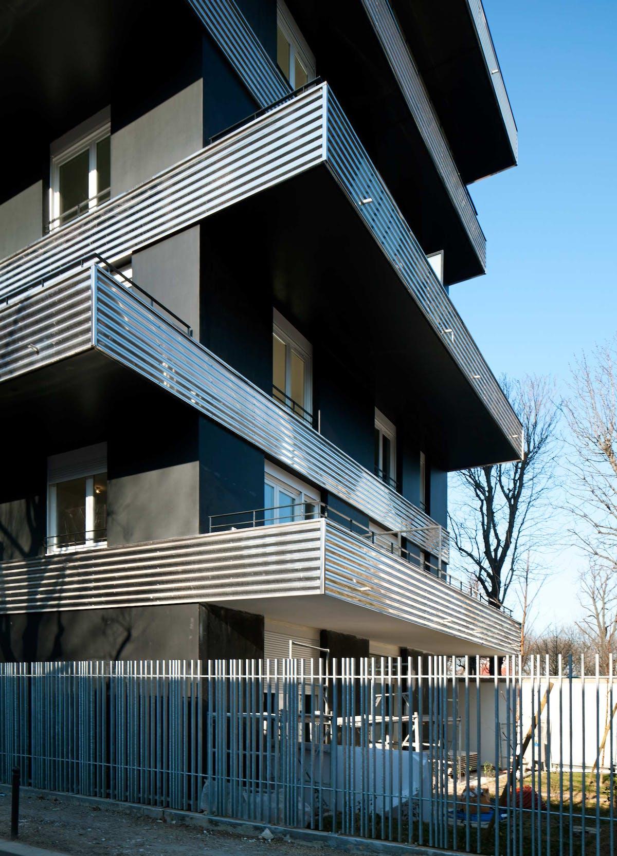 22 housings units rebi re street in paris 17 75 zac porte pouchet laisn roussel archinect - Fourriere porte pouchet paris 17 ...