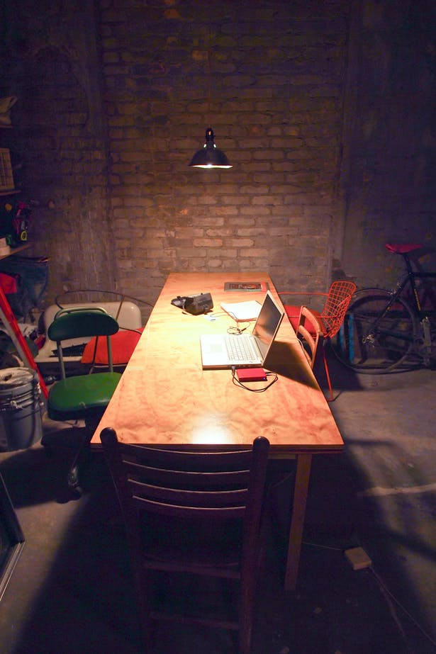 kitchen area - under construction