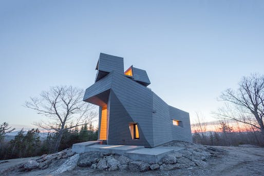 Best Architecture Under 1,000 Square Metres - Anmahian Winton Architects: Gemma Observatory, Central new Hampshire, U.S. Photo credit: Azure