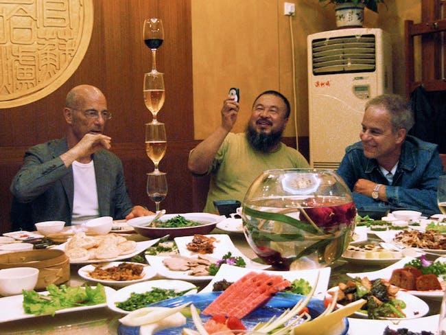 Herzog & de Meuron and Ai Weiwei, Film Still, Bird's Nest - Herzog & de Meuron in China © 2008 by T&C Film AG