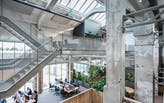 HofmanDujardin and Schipper Bosch transform brutalist factory hall into bustling office building