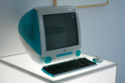 Ive's 1998 design for the iMac revolutionized Apple's position in the technology industry. Image courtesy of Flickr user Marcin Wichary.