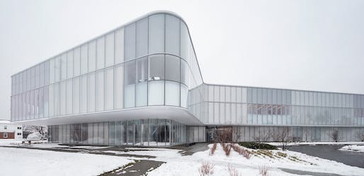 Drummondville Library, Drummondville, QC, Chevalier Morales in consortium with DMA architects. Photo: Adrien Williams