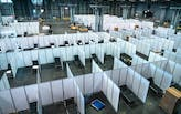 2,500-bed hospital conversion at NYC's Javits Center opens