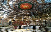 Bulgaria's Buzludzha Monument opens its doors for the first time in eight years, with restoration plans underway