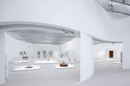 The recently opened Contemporary Art + Design Wing at the Corning Museum of Glass designed by Thomas Phifer and Partners. (Photo: Iwan Baan; Image via wsj.com)