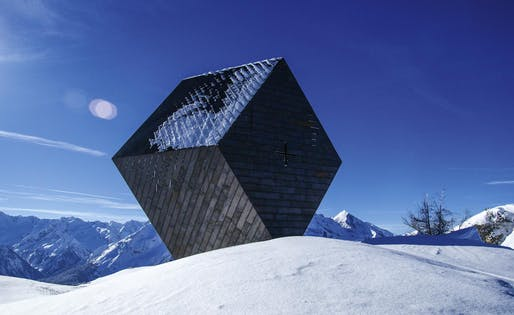 Granatkapelle Zillertal, 2013. Image © Mario Krupik