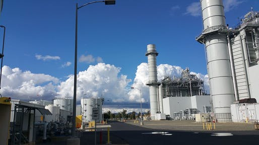 General Electric is closing its 10-year-old gas plant in California 20 years early. Image courtesy of Wikimedia user Oohlongjohnson.
