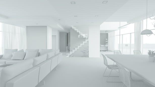Interior, no textures