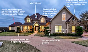A Texas McMansion Hell bracket approaches, check out the 8 contenders
