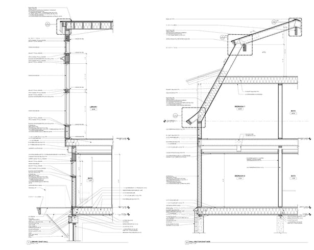 Wall Sections, Revit