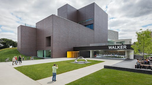 Walker Art Center Expansion by HGA © Paul Crosby Architectural Photography