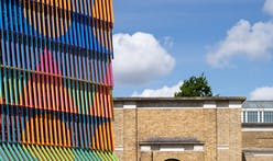 The city of London is hit with color thanks to designer Yinka Ilori
