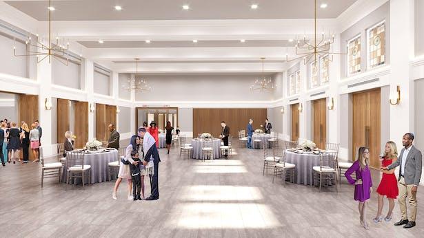 Hirsch hall rendering