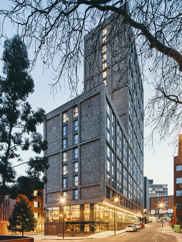 Symons House, Leeds Architecture by Cunniff Design Student amenity by 74
